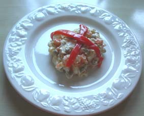 Rysk sallad - Ensalada Rusa