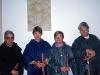 I Yusoklostret, San Millán de la Cogolla, La Rioja, träffar vi en intressant man, Pater Alfonso Labara (till vänster). Han visade oss personligen originalet av relikskrinet i klostret, inte kopian som visas på de vanliga guidade turerna. Som expert förklarade han också i detalj hans forskning kring skrinet.