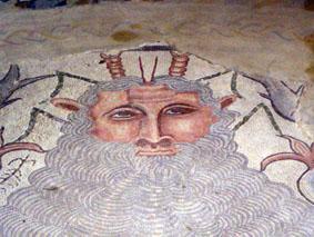 Oceaneo, den romerska vattenguden