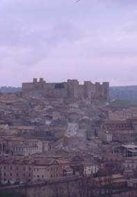 Paradoren i Sigüenza ligger på högsta kullen i staden.