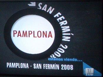 Vi ser på San Fermín 2008