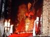 För sista gången i år tillbedes Pamplonas skyddshelgon San Fermín.