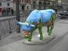Ytterligare en vacker ko i korsningen Gran Vía - Calle Alcalá
