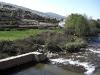 Floden Jerte rinner rakt igenom Cabezuela del Valle, här befinner vi oss strax norr om byn.