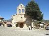 San Miguel Arcángel-kyrkan ligger på torget med samma namn, San Miguel.