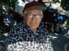 """Alldeles innan Logroño, La Rioja träffade man tidigare på Doña Felisa, född 1910. Där satt satt hon varje dag under ett 15-tal år! och bjöd förbipasserande pilgrimer på småprat, fikon och vatten. Hon stämplade också pilgrimspassen: På stämpeln står det: """"Felisa. Higos, água y amor - Felisa. Fikon, vatten och kärlek."""" En sådan underbar människa. Tyvärr så gick Filisa bort 2002, saknad av många."""