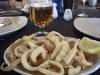 Friterade bläckfiskringar - Calamares