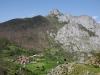 Utsiktsplats över Cucayos dal.