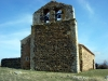 San Pedrokyrkan i Alquite ligger ödsligt på en höjd.