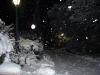 Det fortsätter att snöa på natten.
