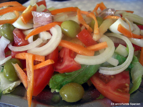 Ensalada mixta - blandad sallad