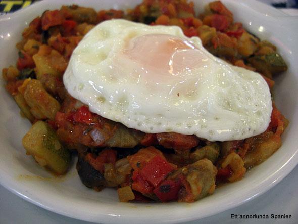Pisto manchego - grönsakssauté från la Mancha