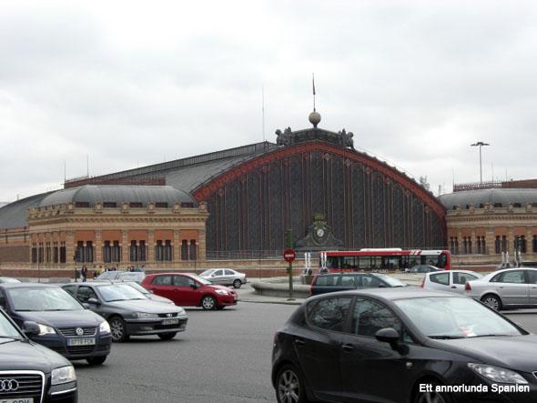 Järnvägsstationen Atocha