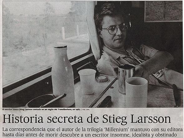 Den hemliga historien bakom Stieg Larsson