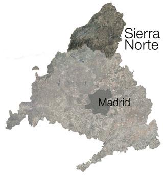 Madridbergen - Sierra Norte