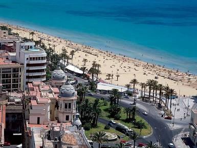 Alicantes kustlinje